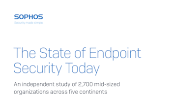 Sophos The State of Endpoint Security Today