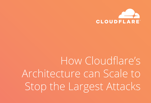 Cloudflare How to Stop the Largest Cyber Attacks