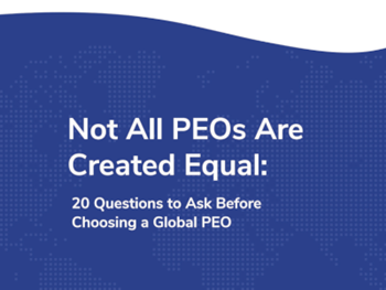 Globalization Partners: 20 Questions to Ask Before Choosing a Global PEO