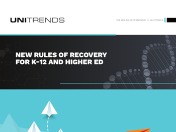 Unitrends - New Rules of Recovery for K-12 and Higher Ed