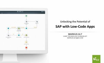 Unlocking the Potential of SAP with Low Code Apps