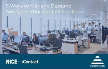 5 Ways to Manage Demand Swings in Your Contact Center