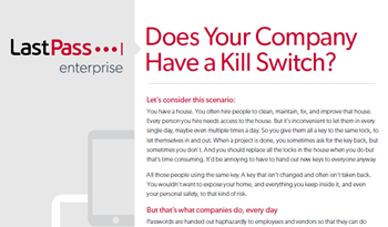 Does Your Company Have a Kill Switch?