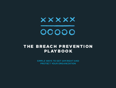 One Identity The Breach Prevention Playbook