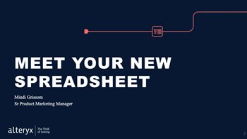 Meet Your New Spreadsheet