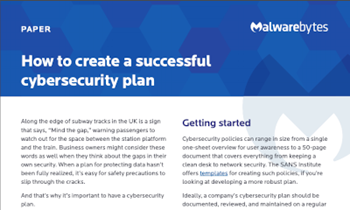 How to Create A Successful Cybersecurity Plan