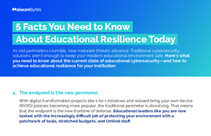 Malwarebytes 5 Facts You Need to Know About Educational Resilience Today