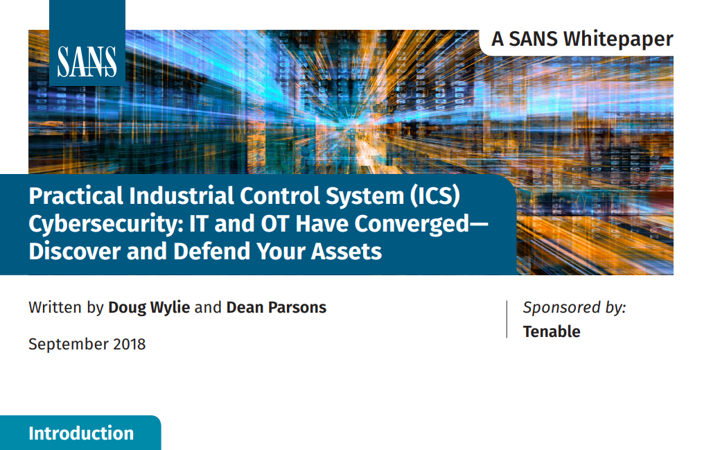 SANS Whitepaper Practical Industrial Control Syste