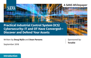 Tenable SANS Whitepaper Practical Industrial Control Syste