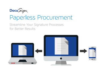 DocuSign Paperless Procurement: Streamline Your Signature Processes for Better Results