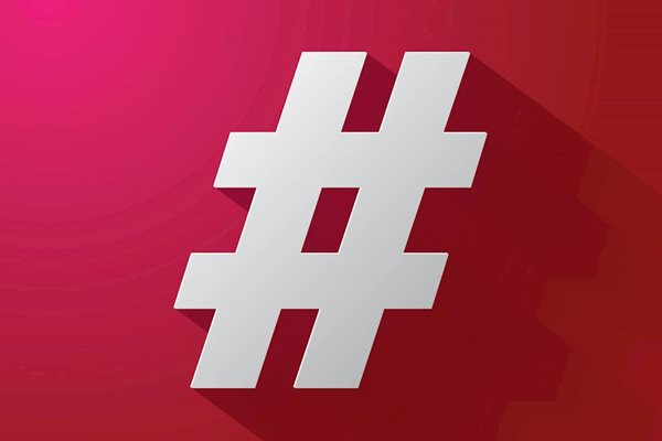 Sind Hashtags out?