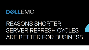 Dell EMC 4 Reasons Shorter Server Refresh Cycles are Better for Business