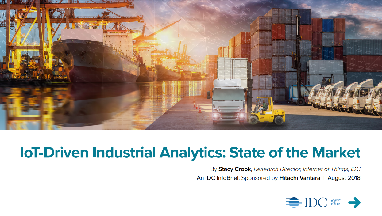 Hitachi IoT-Driven Industrial Analytics: State of the Mark