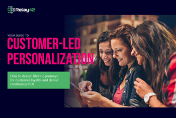 Relay42 Customer-Led Personalisation