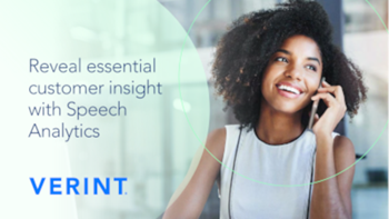 Verint Reveal Essential Customer Insight with Speech Analytics