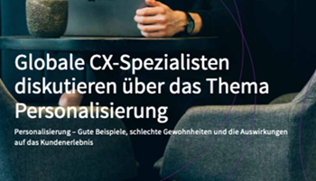 censhare-Global CX Leaders Diskussion zum Thema: Personalisierung