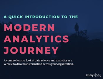 A Quick Introduction to the Modern Analytics Journey