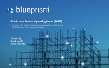 Blue Prism's Robotic Operating Model