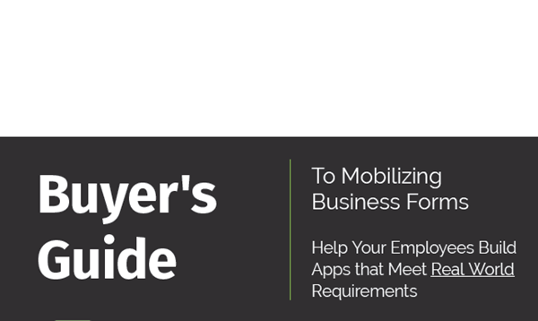 Alpha Software Buyer's Guide to Mobilizing Business Forms