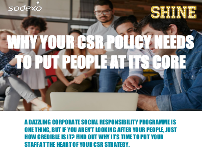 Sodexo Why Your CSR Policy Needs to Put People at Its Core