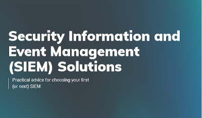 Rapid 7 Security Information and Event Management (SIEM) Solutions