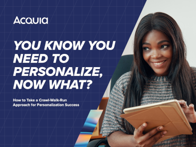 You Know You Need to Personalize, Now What?