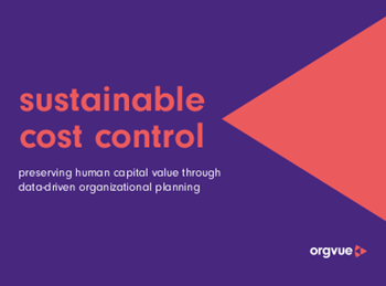 orgvue Sustainable Cost Control