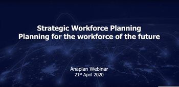 Strategic Workforce Planning: Planning for the workforce of the future