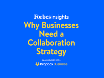 Dropbox Business Why Businesses Need a Collaboration Strategy