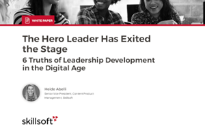 Skillsoft 6 Truths of Leadership Development in the Digital Age