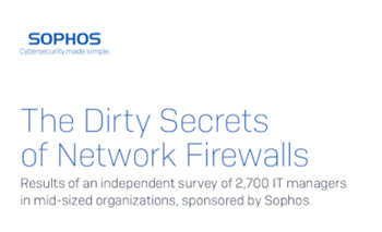 Sophos The Dirty Secrets of Network Firewalls