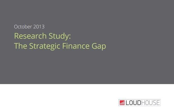 Oracle Netsuite The Strategic Finance Gap