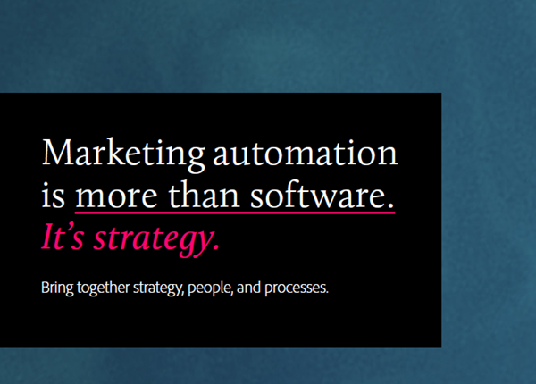Adobe Marketing Automation is More than Just a Software: It's Strategy