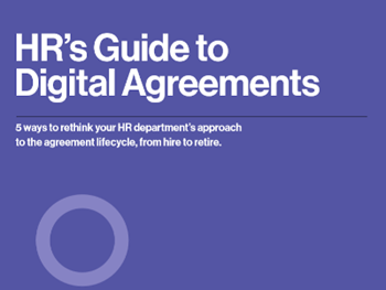 DocuSign HR's Guide to Digital Agreements