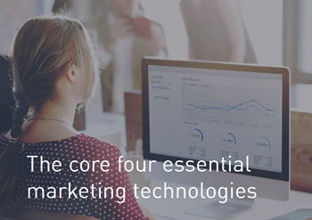 Bynder The Core Four Essential Marketing Technologies