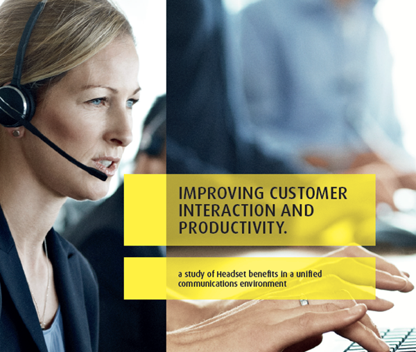 Jabra Headset Benefits in a Unified Communications Environment