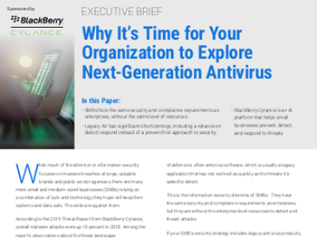 Why It's Time for Your Organization to Explore Next-Generation Antivirus