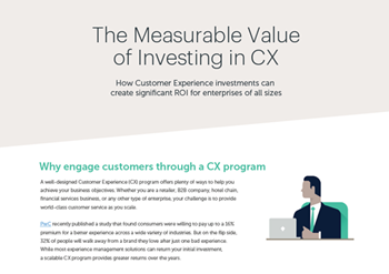 Medallia The Measurable Value of Investing in CX