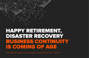 Pure Storage Happy Retirement, Disaster Recovery - Business Con
