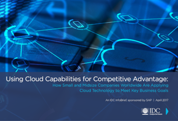 SAP Using Cloud Capabilities for Competitive Advantage
