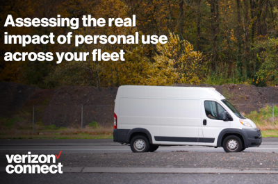 Verizon Connect Accessing the Real Impact of Personal Use Across Your Fleet