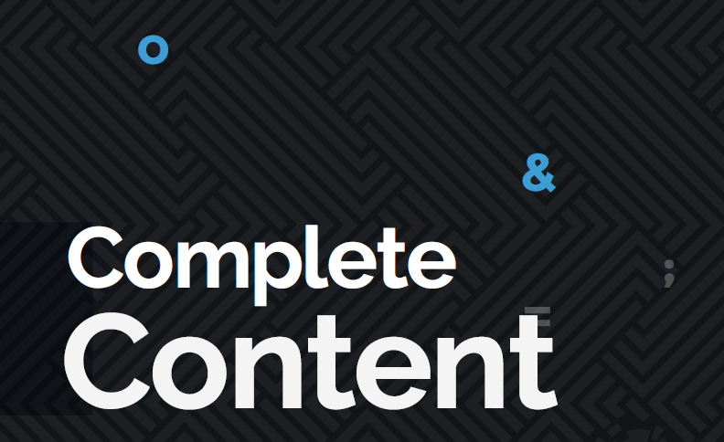 Complete Content – a new way to harness the power