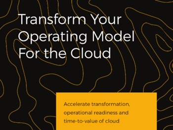 Cloudreach Transform your Operating Model for the Cloud