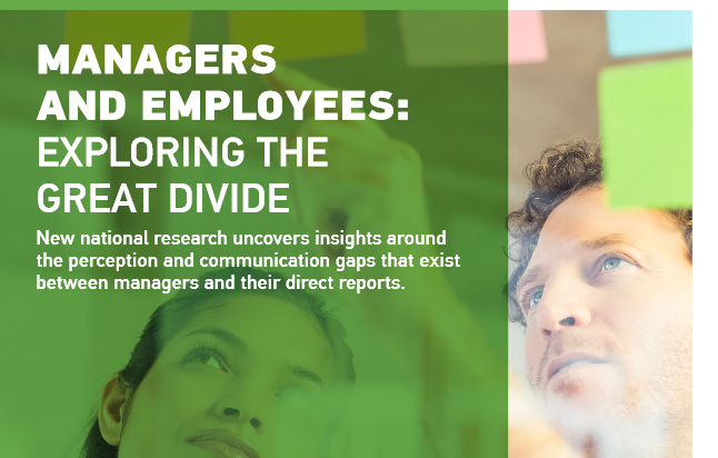 Managers and Employees: Exploring the Great Divide