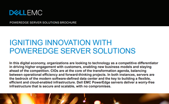 Dell EMC Igniting Innovation with PowerEdge Server Solution