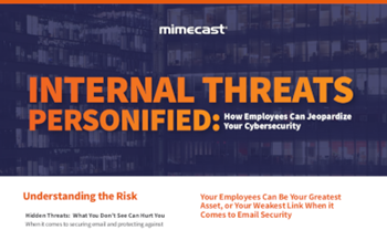 Mimecast Internal Threats Personified: How Employees Can Jeopardize Your Cybersecurity