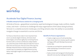 Accelerate Your Digital Finance Journey