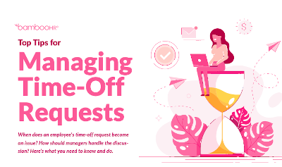 Top Tips for Managing Time-Off Requests