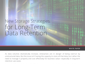 Veritas New Storage Strategies for Long-Term Data Retention