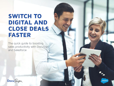 DocuSign The Quick Guide to Boosting Sales Productivity with DocuSign and Salesforce